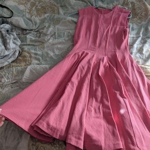 Perfect pink Valentine's Dress stretchy and comfy